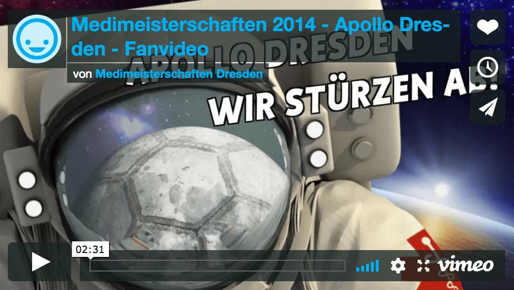 Medimeisterschafter Video Vorschaubild Dresden 2014