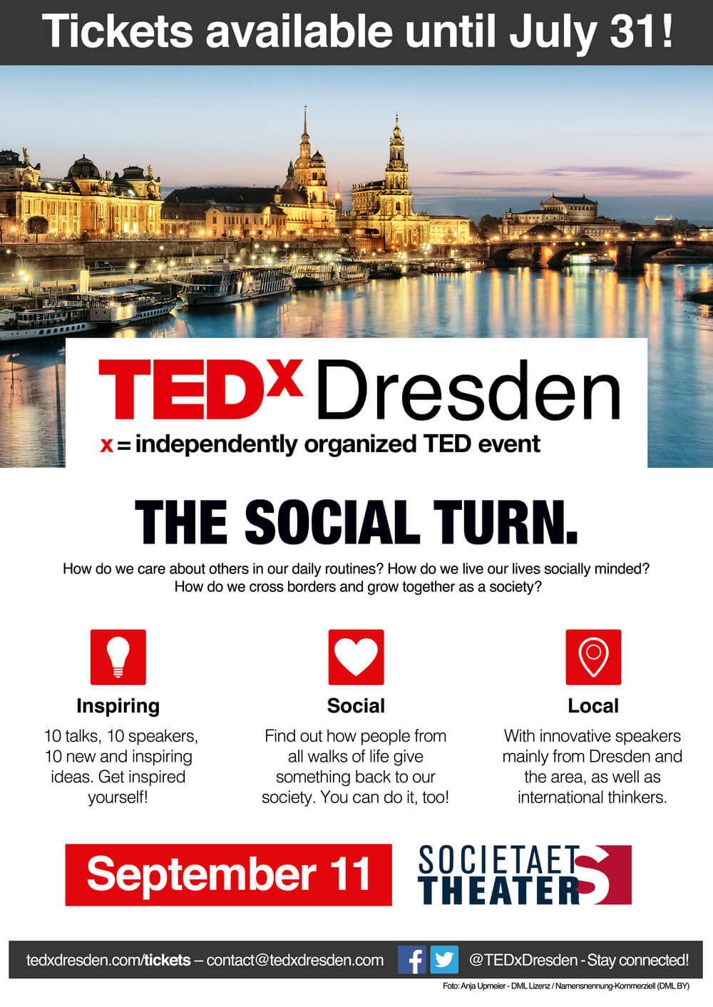 TEDx Dresden - The Social Turn (2016) – Eyes Open